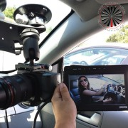 Camera Suction Mount for Driving Shots from RigWheels