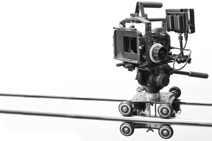 Captive Rail Camera Dolly/Slider System from RigWheels
