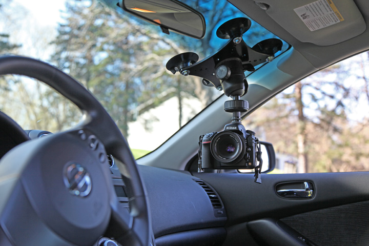 Car Interior Camera Mount