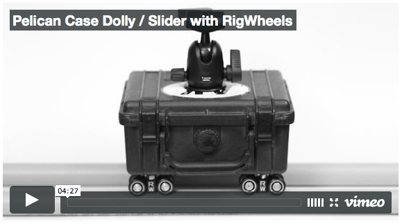 Pelican Case Camera Dolly / Slider