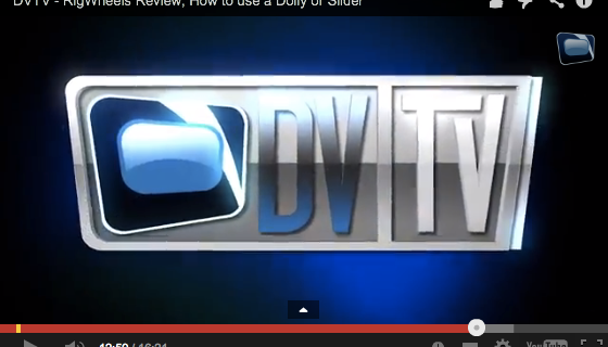 DVTV reviews our MircoWheel Camera Dolly Wheels