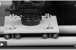Easiest DIY Camera Dolly How-To with MicroWheels