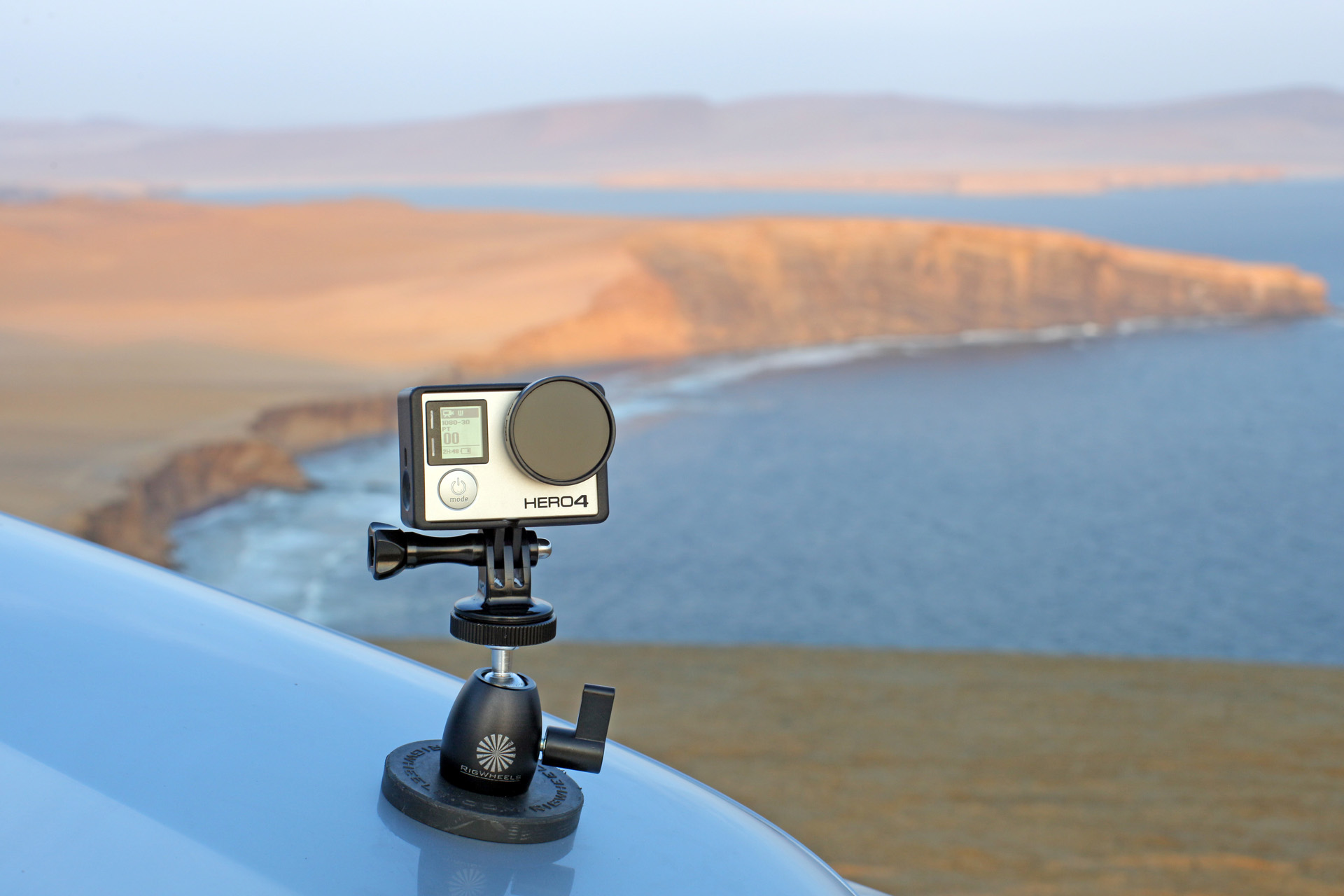 car mount for gopro action camera