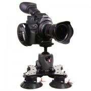 Strong Secure Heavy-Duty Suction Mount for mounting Large/Heavy cameras