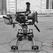 Low Mode Camera Dolly System with RigWheels Rail Dolly