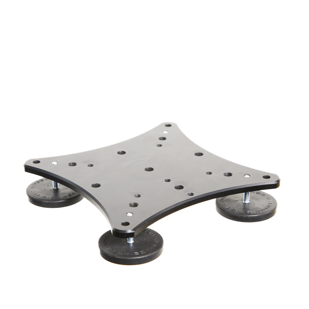 Magnet Mount With Rigwheels Rigmount High Power Magnetic