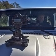 Solid Camera Mount for Off-Road and High-Speed driving.