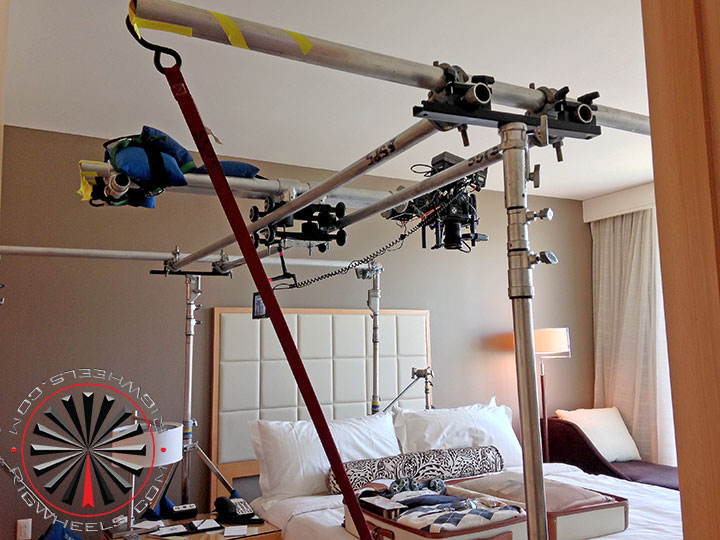 Overhead Camera Slider Dolly System Using The Raildolly 2x