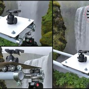 Portable Camera Slider in Remote Location using RigWheels System.