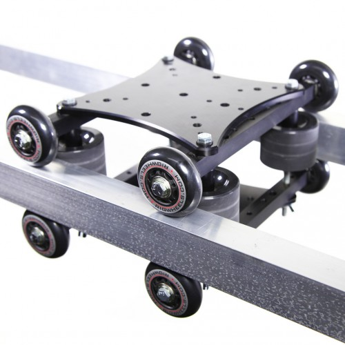 RailDolly 2X quiet camera dolly/slider from RigWheels