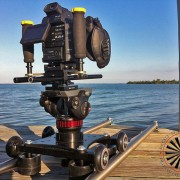 Smooth Camera Slider with Canon C100 from RigWheels