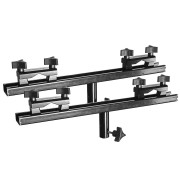 Universal Rail/End Bracket for Camera Dolly and Slider Systems