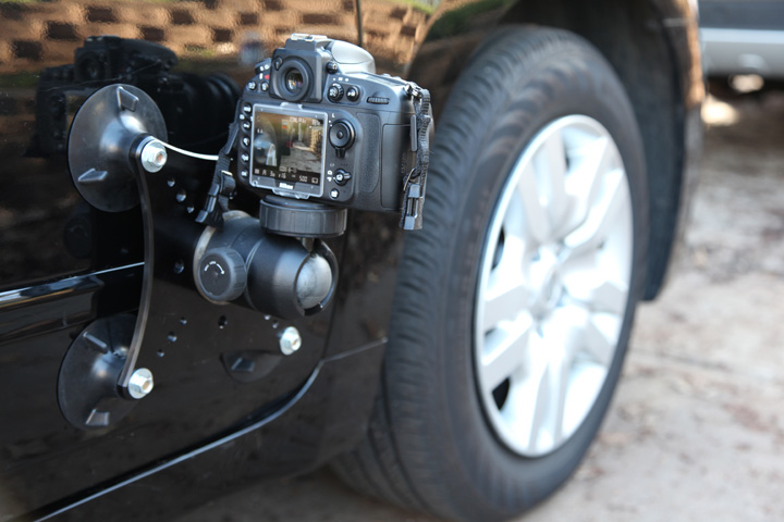 Video Suction Mount