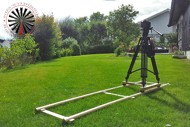 Wood Camera Dolly
