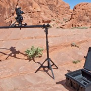 RigWheels all terrain camera dolly for professional movement in remote locations