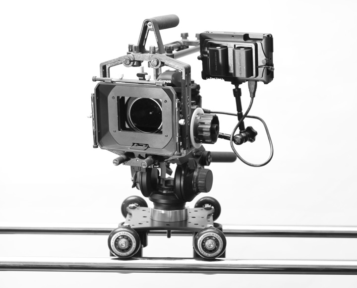 camera slider for large camera rig