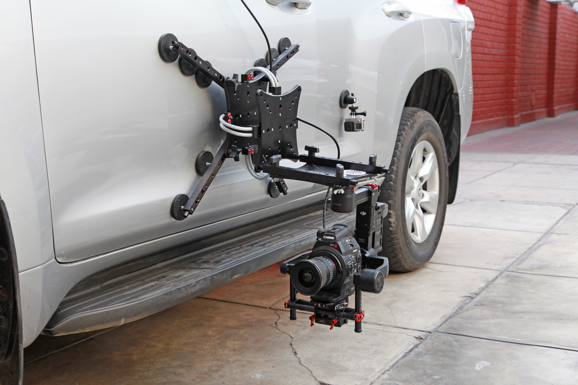 vibration isolator for camera gimbal