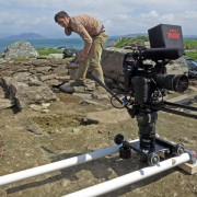 Portable Camera Dolly/Slide System for Red Epic