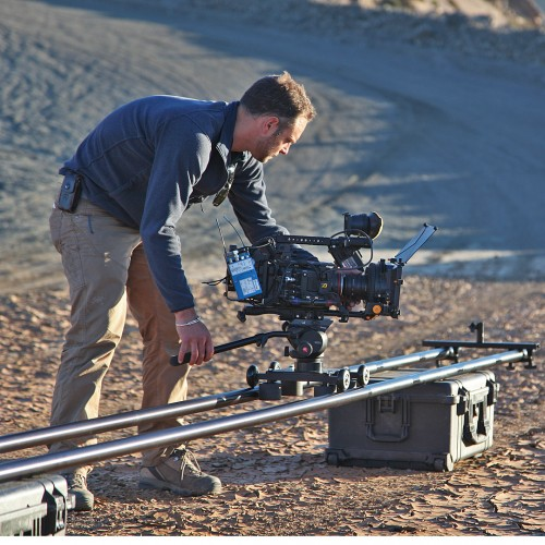 Heavy duty camera dolly for large cameras
