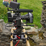 Dolly for Rig Epic using RigWheels RailDolly