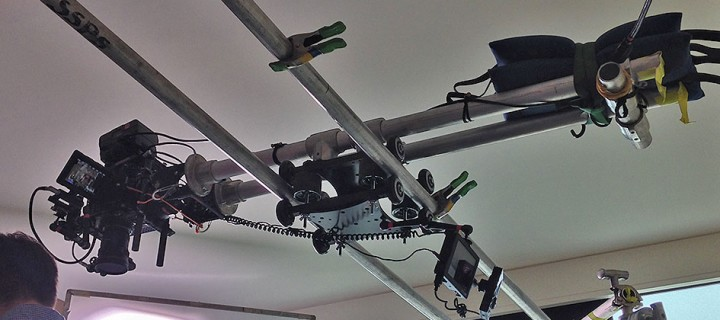 Overhead Camera Slider-Dolly System using the RailDolly 2X